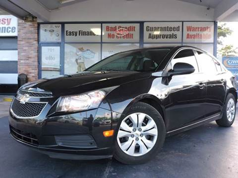 2012 Chevrolet Cruze for sale in Fort Lauderdale, FL