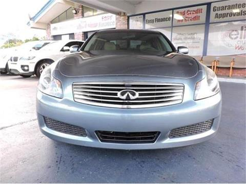 2007 Infiniti G35 for sale in Fort Lauderdale, FL