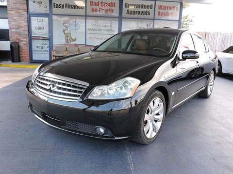 2007 Infiniti M35 for sale in Fort Lauderdale, FL