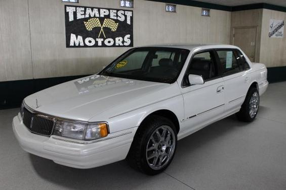 1994 lincoln continental used cars for sale for Paramount motors taylor mi