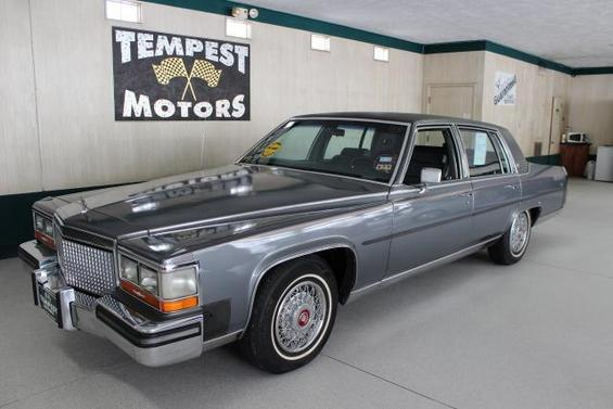 Used cadillac brougham for sale for Tempest motors in akron ohio