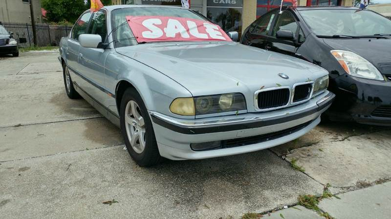 1997 bmw 7 series 740i 4dr sedan in bradenton fl cars plus. Black Bedroom Furniture Sets. Home Design Ideas