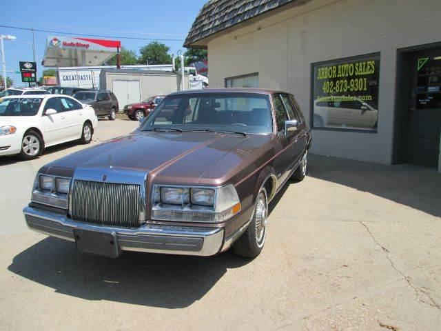 1987 Lincoln Continental for sale in Nebraska City NE