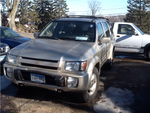 1998 Infiniti QX4 for sale in Maplewood, MN