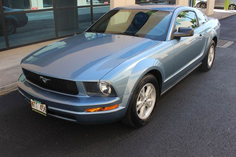 2005 ford mustang deluxe 2dr coupe in waipahu hi bayview. Black Bedroom Furniture Sets. Home Design Ideas