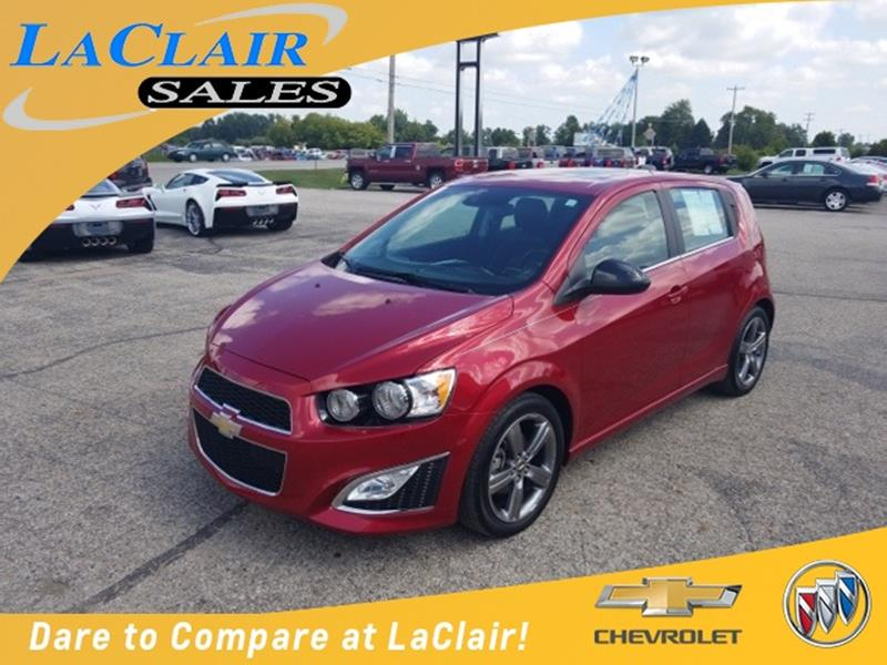 2015 chevrolet sonic for sale in michigan. Black Bedroom Furniture Sets. Home Design Ideas