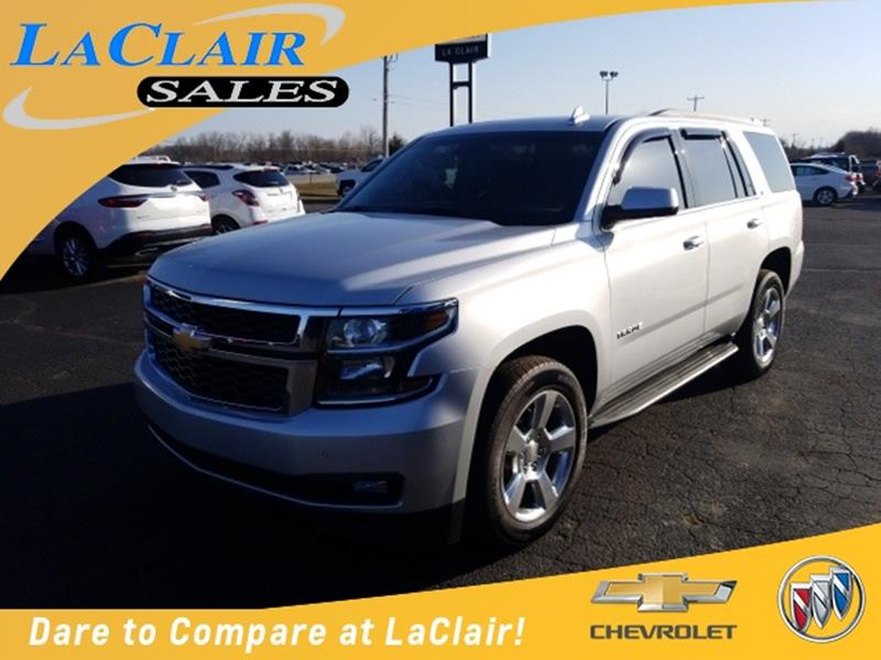 2016 chevrolet tahoe for sale in michigan. Black Bedroom Furniture Sets. Home Design Ideas