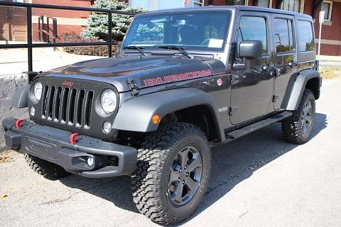 2017 Jeep Wrangler Unlimited for sale in Springville, NY