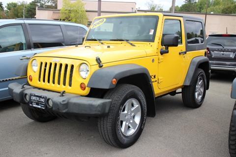 2009 Jeep Wrangler for sale in Springville, NY