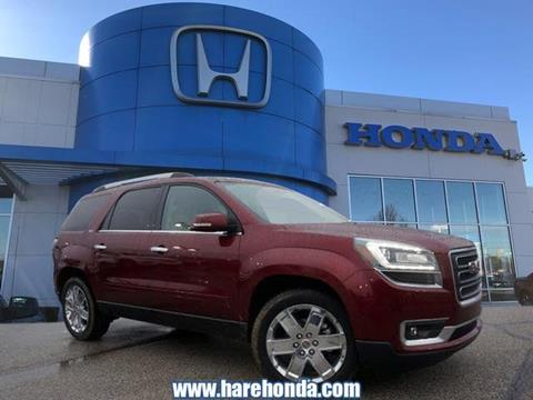 2017 GMC Acadia Limited for sale in Avon, IN