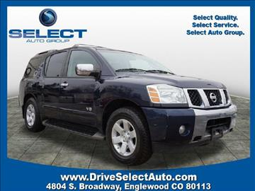 2006 Nissan Armada for sale in Englewood, CO