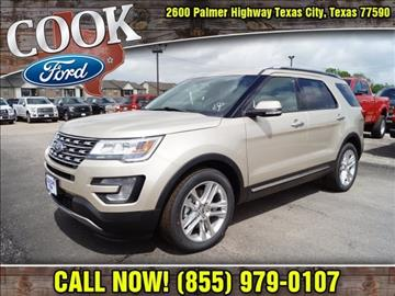 2017 Ford Explorer for sale in Texas City, TX