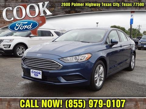 2018 Ford Fusion for sale in Texas City, TX