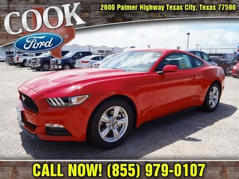 2017 Ford Mustang for sale in Texas City, TX