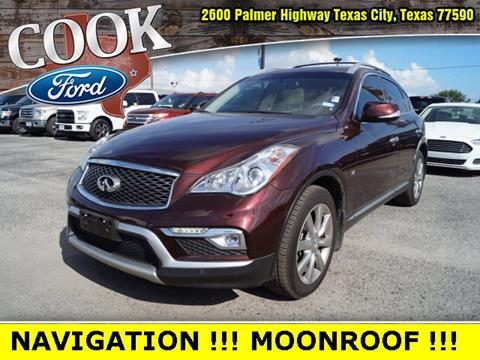 2016 Infiniti QX50 for sale in Texas City, TX
