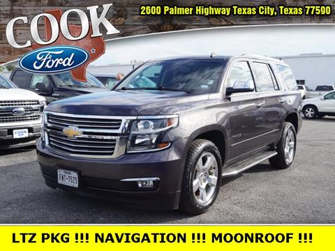 2015 Chevrolet Tahoe for sale in Texas City, TX