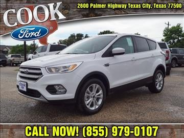 2017 Ford Escape for sale in Texas City, TX