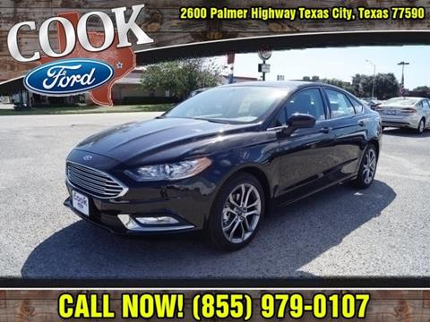 2017 Ford Fusion for sale in Texas City, TX