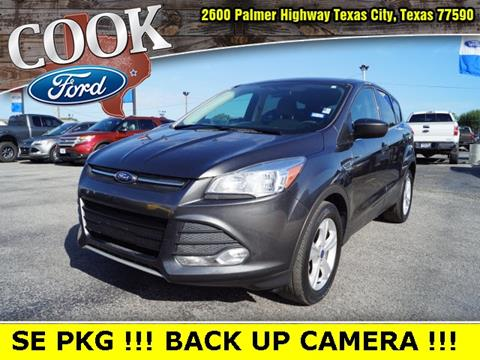 2015 Ford Escape for sale in Texas City, TX