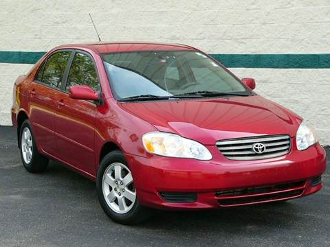 2004 Toyota Corolla for sale in Palatine, IL
