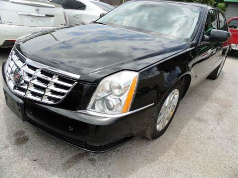 2010 Cadillac DTS for sale in Dallas, TX