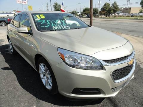 2015 Chevrolet Malibu for sale in Dallas, TX