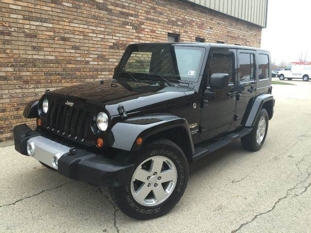 2008 jeep wrangler unlimited sahara 4x4 suv in east dundee il all star car outlet. Black Bedroom Furniture Sets. Home Design Ideas