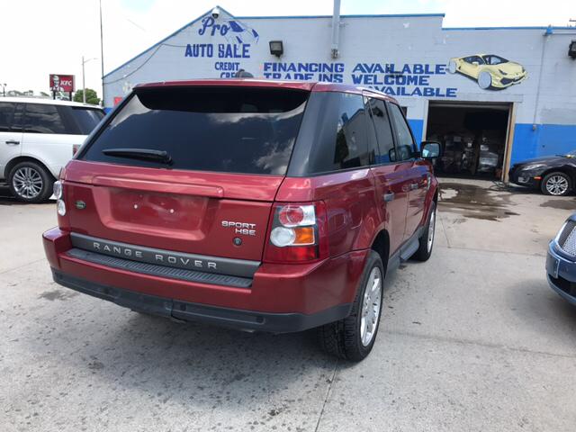2006 Land Rover Range Rover Sport HSE 4dr SUV 4WD - Lincoln Park MI