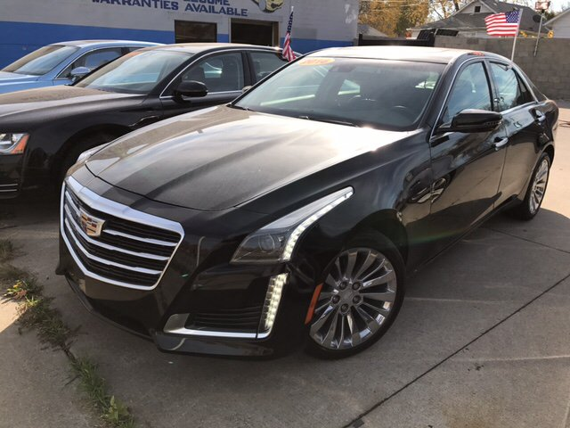 2016 cadillac cts 2 0t luxury collection awd 4dr sedan in lincoln park mi pro auto sale inc. Black Bedroom Furniture Sets. Home Design Ideas