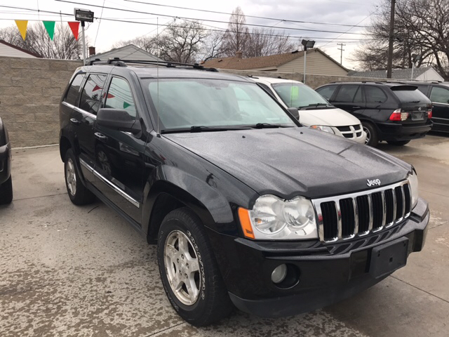 2006 jeep grand cherokee limited 4dr suv 4wd w front side. Black Bedroom Furniture Sets. Home Design Ideas