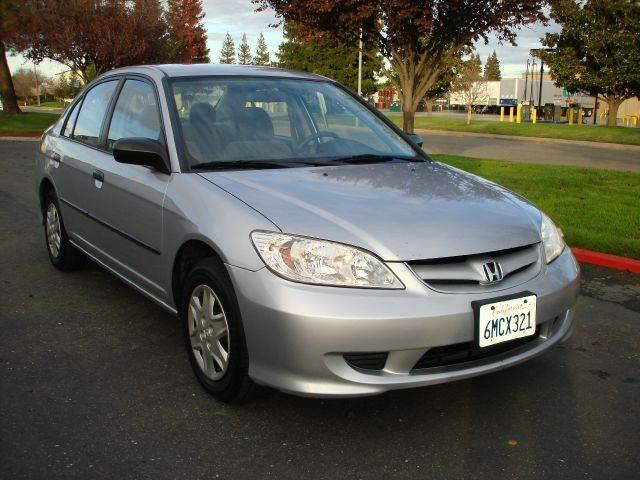 2005 Honda Civic DX 4dr Sedan   Sacramento CA