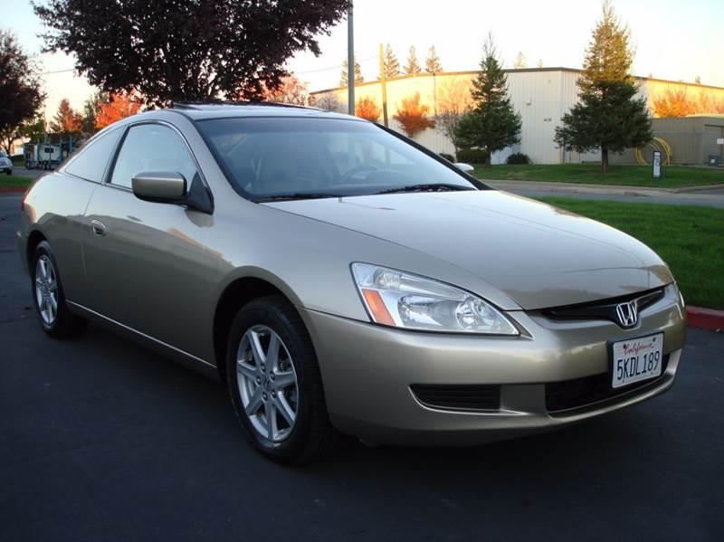 2004 Honda Accord EX V 6 2dr Coupe   Sacramento CA