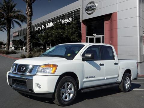 2014 Nissan Titan for sale in Mesa, AZ
