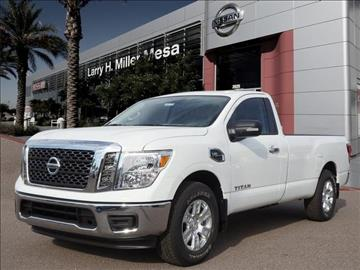2017 Nissan Titan for sale in Mesa, AZ
