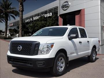 2017 Nissan Titan for sale in Mesa, AZ