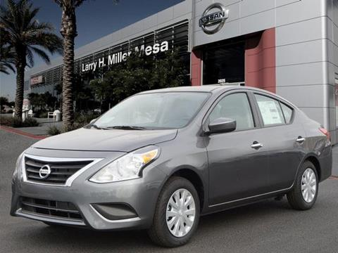 2018 Nissan Versa For Sale In Mesa, AZ