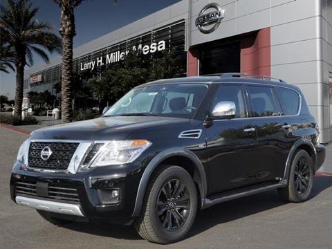 2018 Nissan Armada for sale in Mesa, AZ