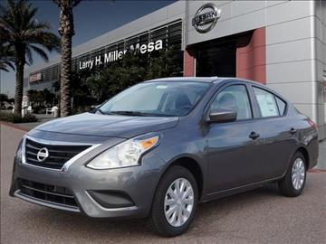 2017 Nissan Versa for sale in Mesa, AZ