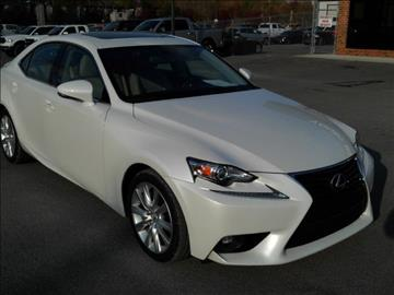 2015 lexus is 250 for sale alabama for Young motors boaz al
