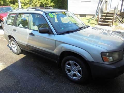 2003 Subaru Forester for sale in Cream Ridge, NJ
