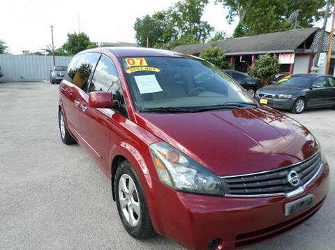 2007 Nissan Quest for sale in Houston, TX