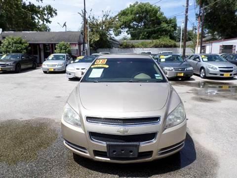 2008 Chevrolet Malibu for sale in Houston, TX