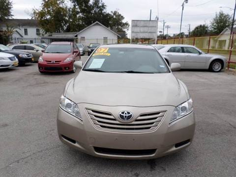 2007 Toyota Camry for sale in Houston, TX