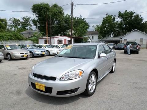 2013 Chevrolet Impala for sale in Houston, TX