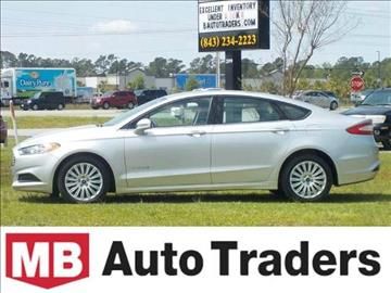 2013 Ford Fusion Hybrid for sale in Conway, SC