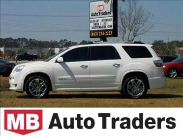 2012 GMC Acadia for sale in Conway, SC