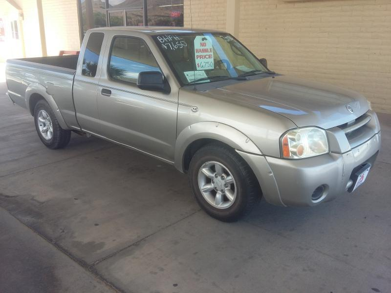 2004 nissan frontier 2dr king cab xe rwd sb in hurricane ut the car barn. Black Bedroom Furniture Sets. Home Design Ideas