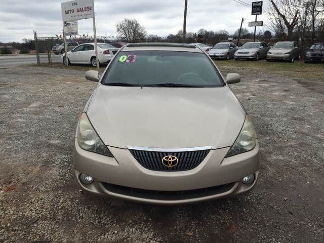 toyota camry solara for sale in greenville sc. Black Bedroom Furniture Sets. Home Design Ideas
