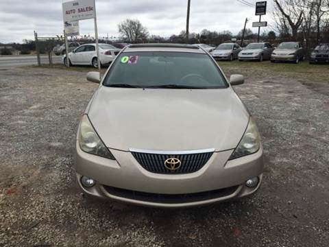 Toyota Camry Solara For Sale Greenville Sc