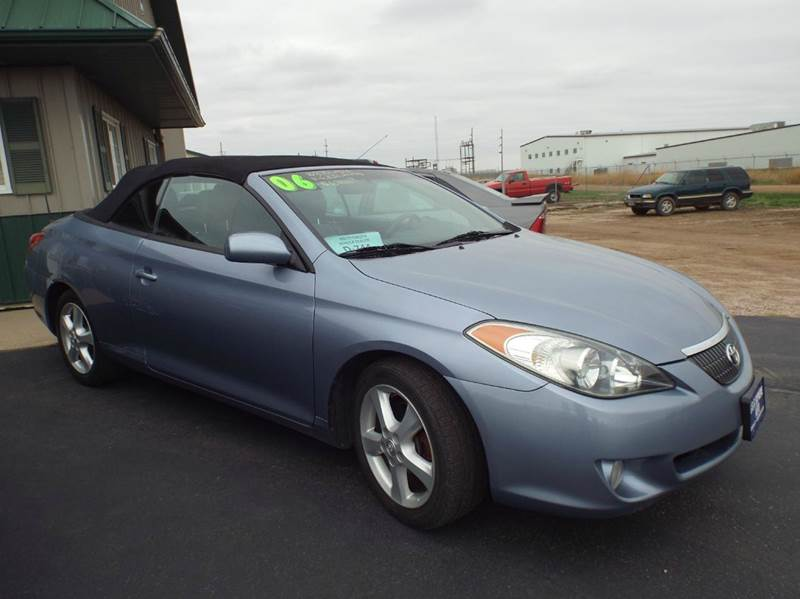 2006 toyota camry solara se v6 2dr convertible in canton sd g k supreme. Black Bedroom Furniture Sets. Home Design Ideas